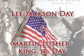 Area Closings for Lee-Jackson-King Days