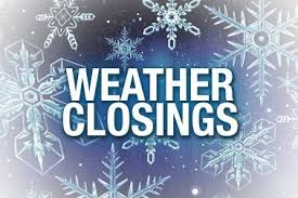 Weather-related announcements 12/17