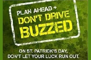 Free Rides for St. Paddy's Day
