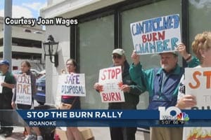 Residents Rally against Radford