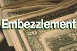 Bank employee charged with embezzlement
