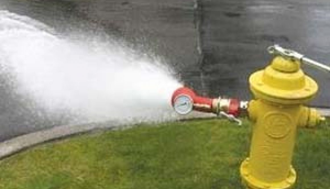 Fire Hydrant Testing Starts Today