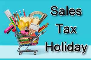 8/5-7: Sales Tax Holiday