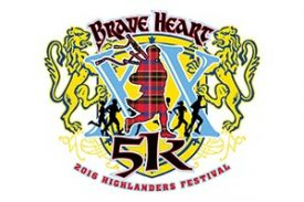 10/8: BraveHeart 5K Run/Walk