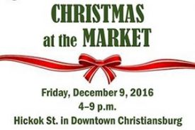 Vendors needed for Christmas at the Market