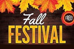 10/28: Fall Festival