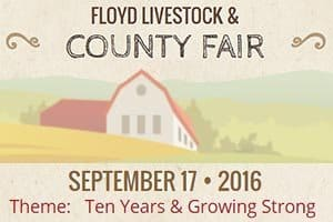 9/17: Floyd Livestock & County Fair