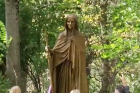Mary Draper Ingles statue unveiled