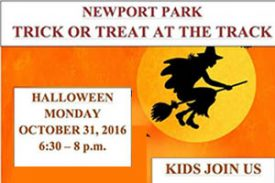 10/31: Trick or Treat at the Track