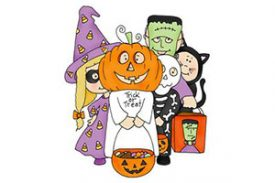 10/31: Trick or Treat at Gov't Center