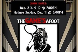 12/9-10: The Game's Afoot