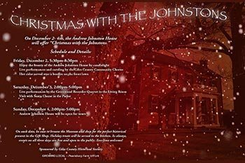 12/2-4: Christmas with the Johnstons