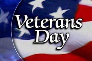 Griffith Honors Veterans Day