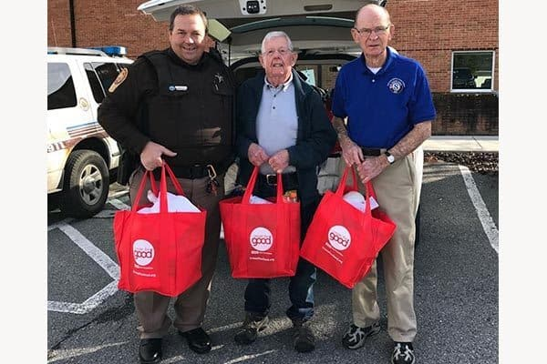 RSVP helps with Supplies for Seniors