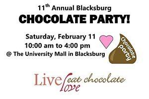 2/11: Blacksburg Chocolate Party