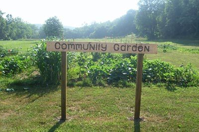 Sign Up for the Community Garden