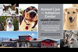 4/29: Animal Shelter Grand Opening