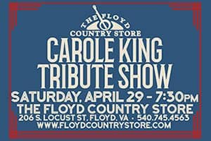 Carole King Tribute Show at The Floyd Country Store