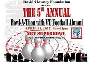 4/21: David Clowney Foundation Bowl-a-Thon