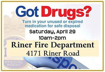 4/29: Drug Takeback Day