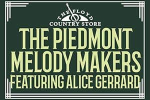 5/13: Alice Gerrard & The Piedmont Melody Makers