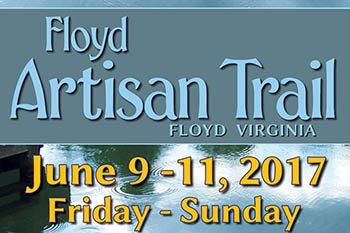 6/9-11: Floyd Artisan Trail June Tour