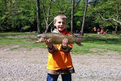 5/20: Floyd Kids Fishing Day