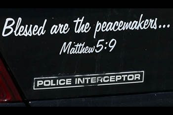 Peacemaker decals removed from vehicles