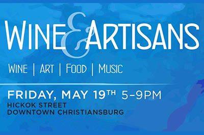 5/19: Wine & Artisans