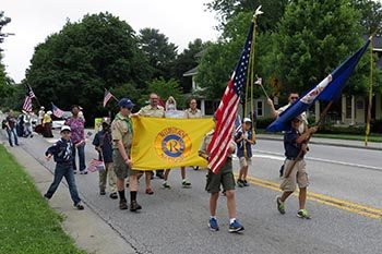 Entries Needed for Blacksburg July 4th Parade