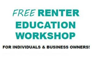 Free Renter Education Workshops