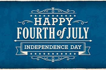 Independence Day Closings 27