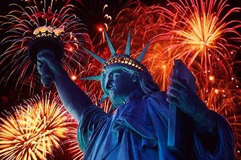 Closings for Independence Day