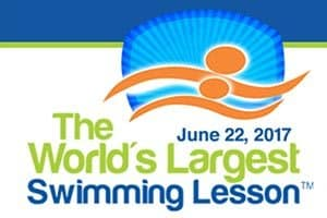 6/22: World's Largest Swimming Lesson