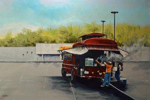 "Chicken Bus, by Robert ""RL"" Thomas"