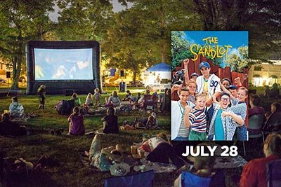 7/28: Movie in the Park: The Sandlot
