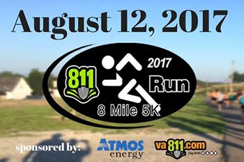 8/12: 811 8-mile and 5K Walk / Run