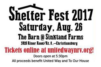 8/26: Shelter Fest 2017