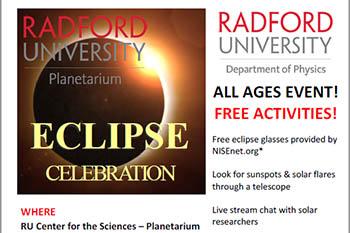8/21: Eclipse Celebration