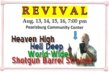 8/13-16: Revival with Ray Bennett