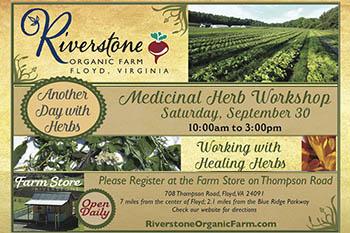 9/30: Medicinal Herbs Class