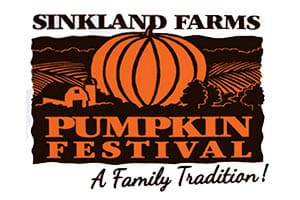9/29-10/29: Sinkland Farms Pumpkin Festival