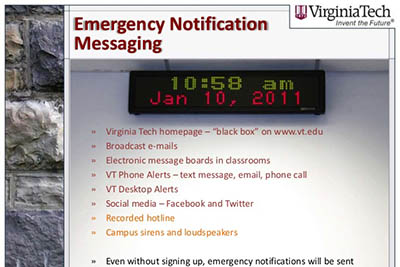 VT Alerts Testing Today