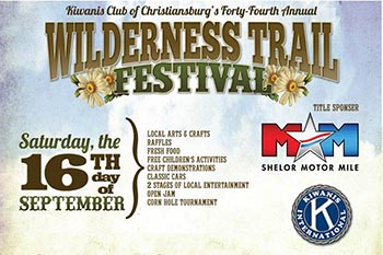 9/16: 2017 Kiwanis Wilderness Trail Festival