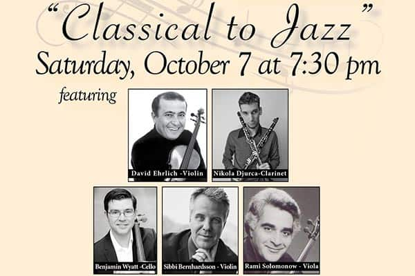 10/14: Classical Jazz