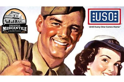 11/4: Fabulous 40's USO Fundraiser