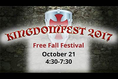 10/21: KingdomFest 2017