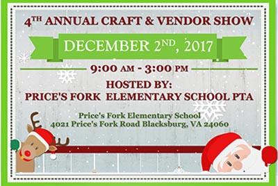 12/2: Prices Fork Craft & Vendor Sale
