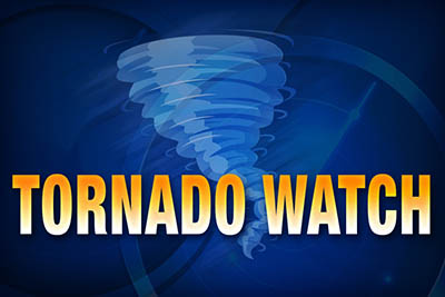Tornado Watch in Effect for the Area