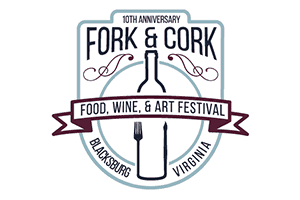 10th Anniversary Blacksburg Fork and Cork